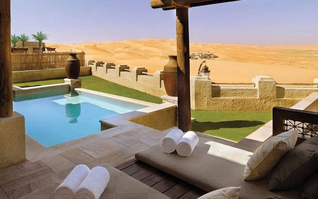 Desert charm at Qasr 