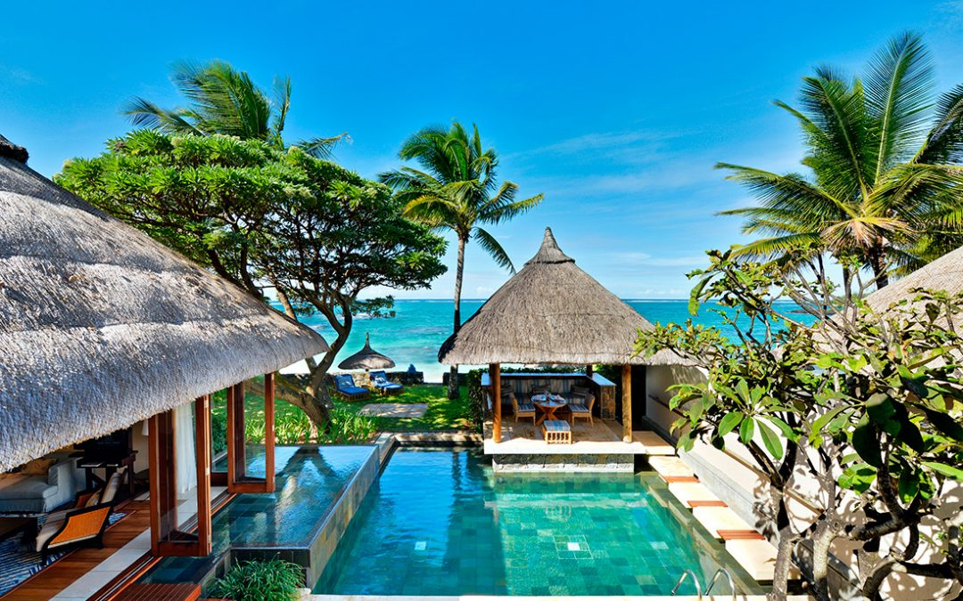 Be the belle of the beach in Mauritius