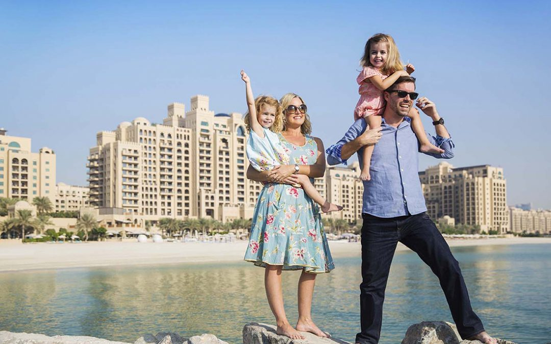 Family first at Fairmont The Palm