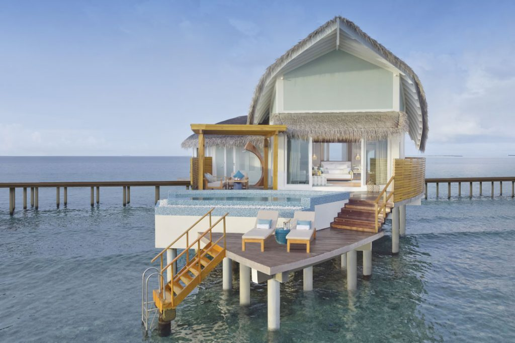 Jw Marriott Maldives Resort And Spa overwater villa