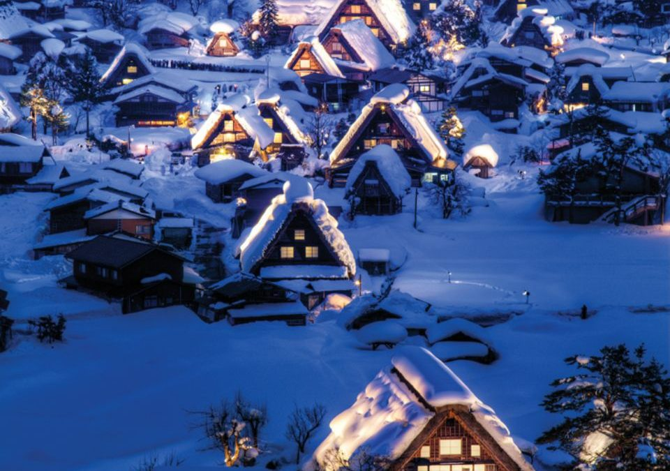 Explore Japan's snowy wonderland