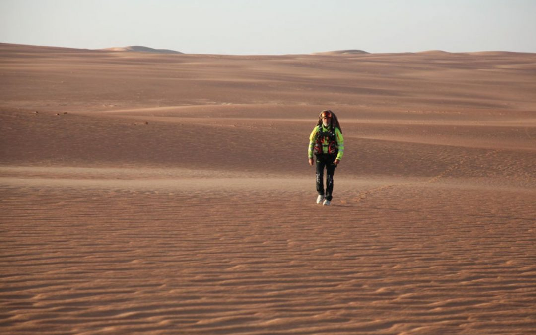 How Max Calderan became the first person in history to cross the Empty Quarter