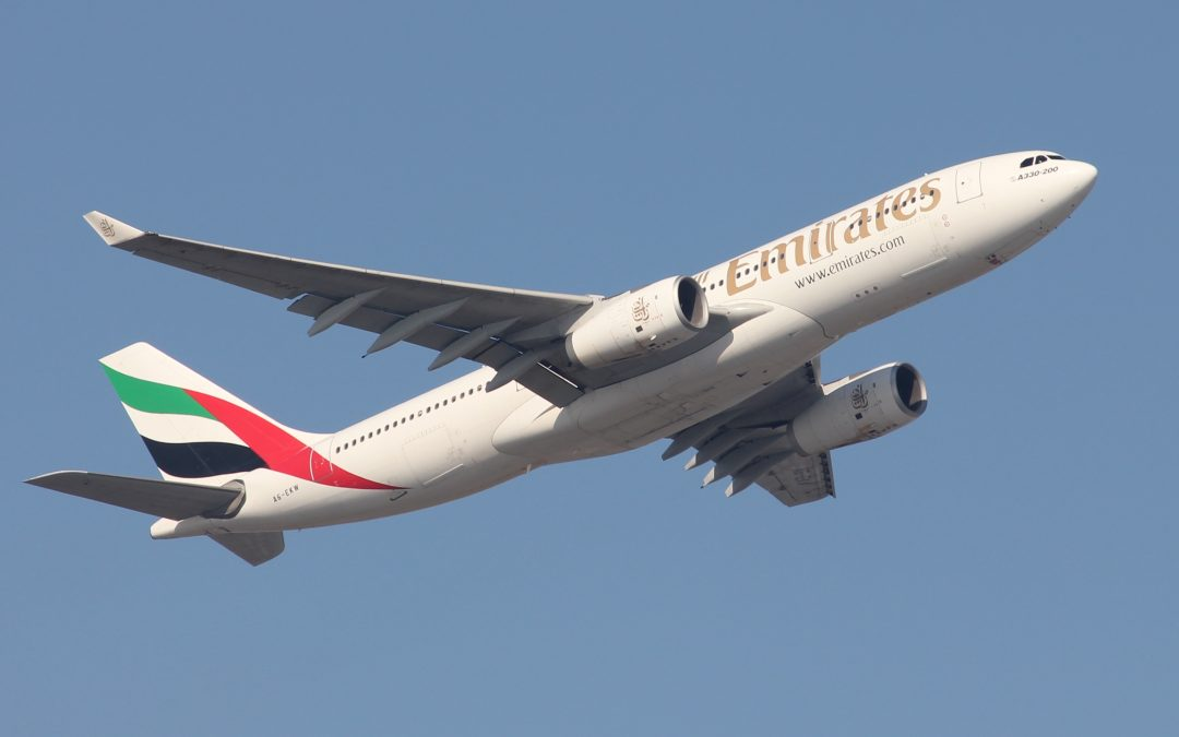 Emirates has announced a schedule of upcoming flights