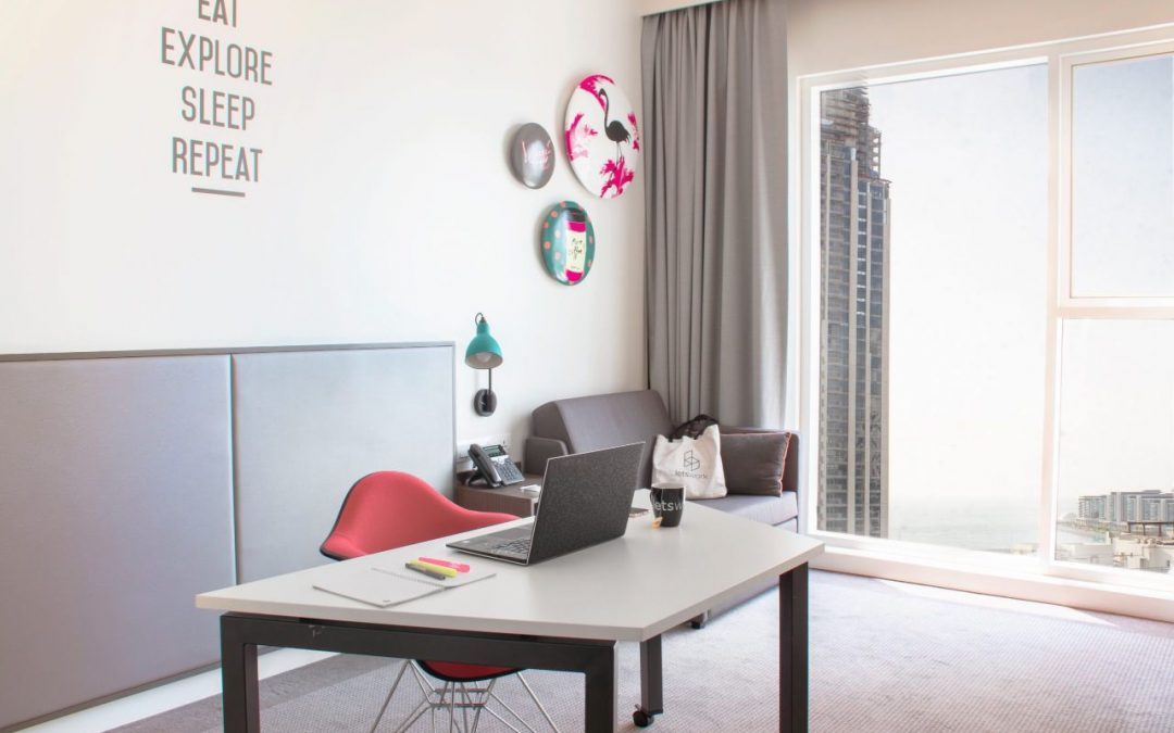 Hotel workspaces: is silence a luxury?