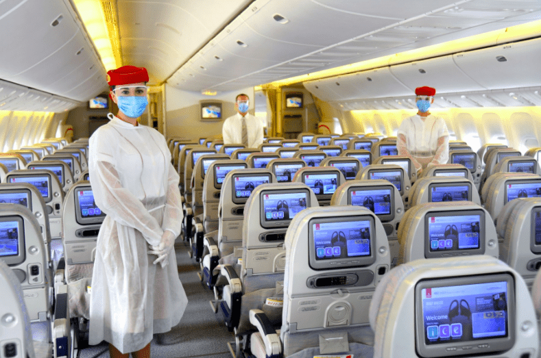 Emirates steps up safety measures with PPE equipment
