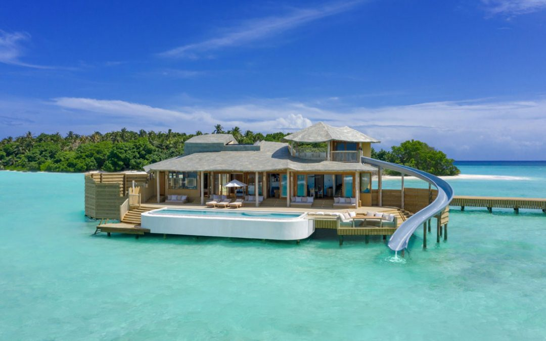 See inside the record-breaking water villas opening in the Maldives this September