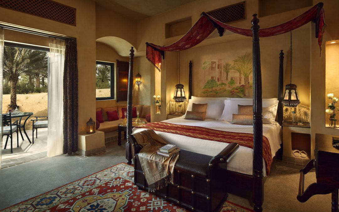 Need to escape the city? Reconnect with nature and yourself in a luxurious suite at Bab Al Shams Desert Resort