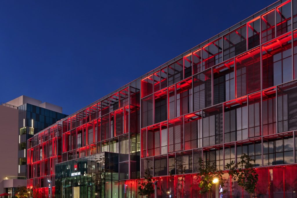 Radisson RED Silicon Oasis hotel front