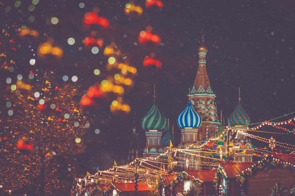 Christmas in Moscow's Red Square