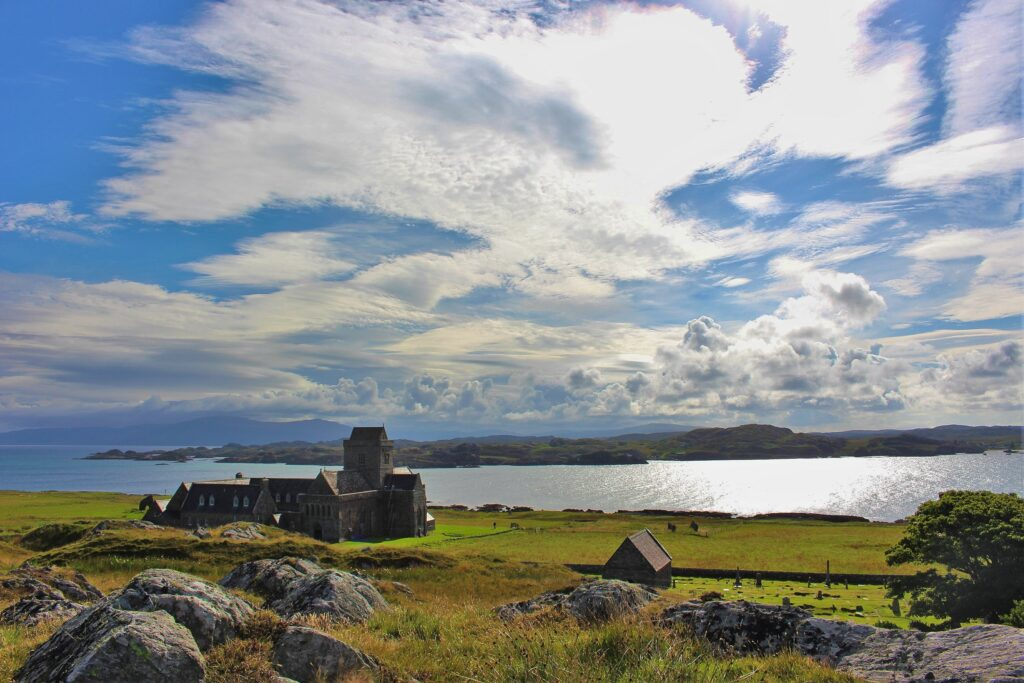 A church on the Outer Hebrides