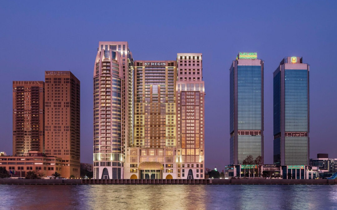 The St. Regis Cairo opens on the banks of The Nile