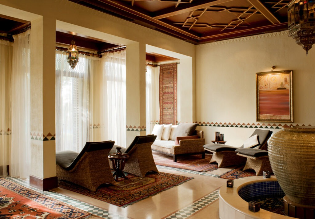 Timeless Spa relaxation room
