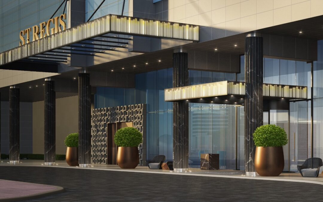 A new St. Regis hotel is set to open in Dubai in late 2021