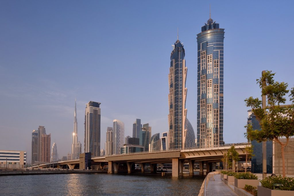 Explore the many dining venues in this central Dubai hotel. Image   JW Marriott Marquis Hotel Dubai