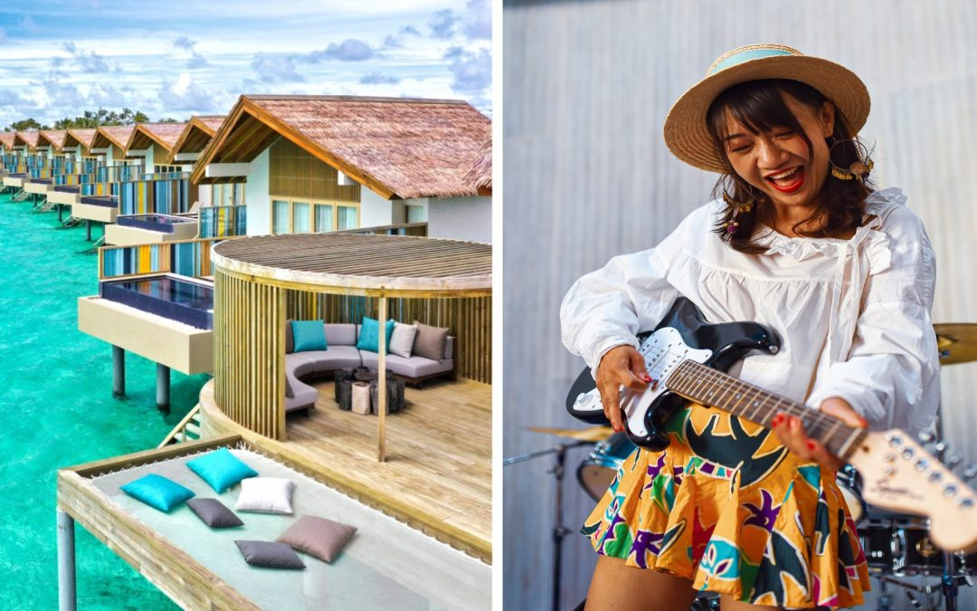Hard Rock Hotel Maldives has launched the perfect Camp-Cation for unforgettable family fun this summer
