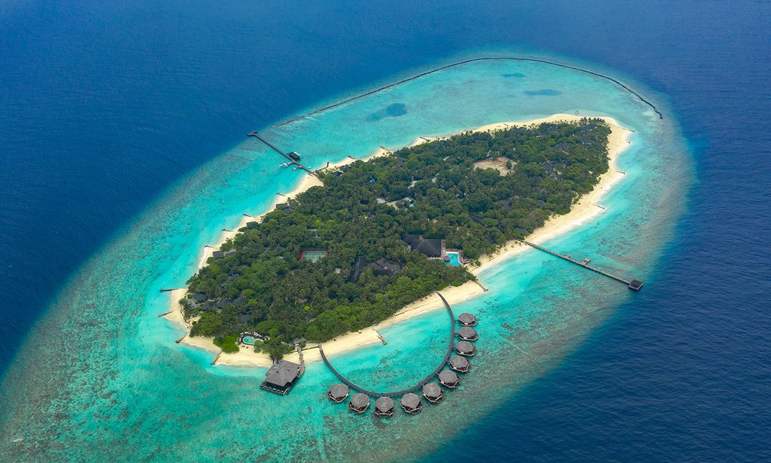 This Maldives resort is turning its beach into a Biergarten
