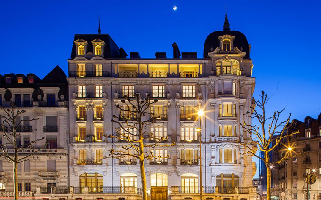 The new Geneva hotel that's more like a private home